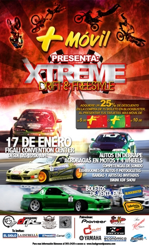 Xtreme Drift and Freestyle Panama