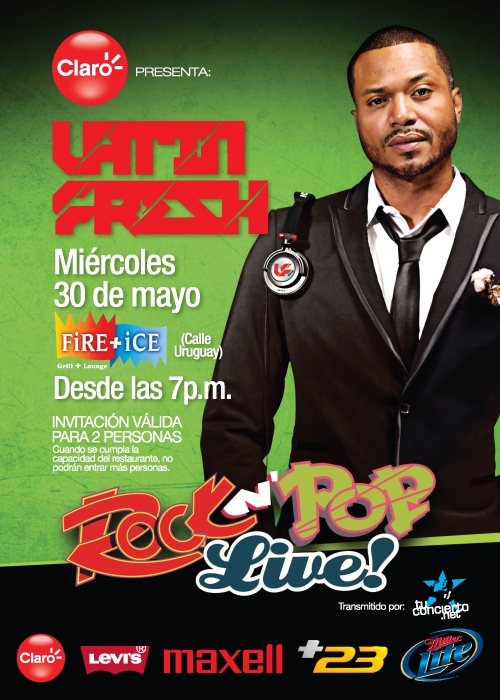 Latin Fresh en Fire Ice Panama