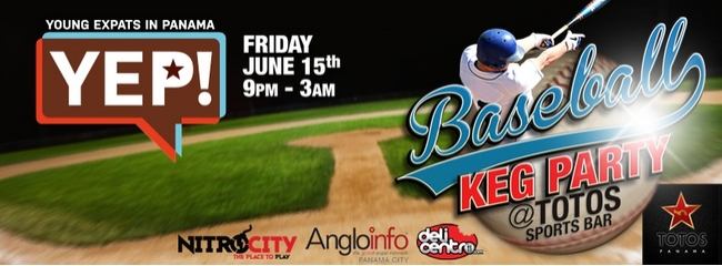 YEP! Baseball Keg Party @ Totos Sports Bar
