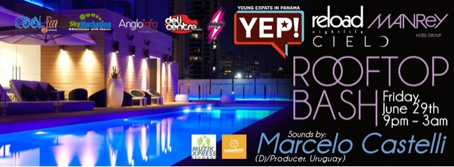 YEP! Manrey Hotel Rooftop Bash @ Cielo Pool Bar