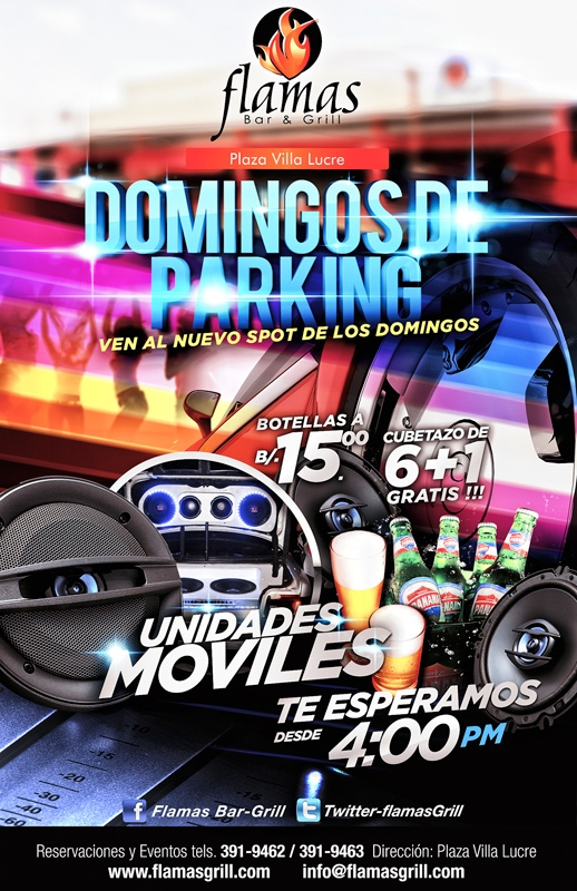 Domingos de Parking en Flamas