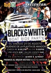 BLACK & WHITE BOAT RIDE PARTY 2015